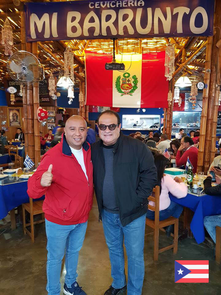 Tony Vega  en Mi Barrunto