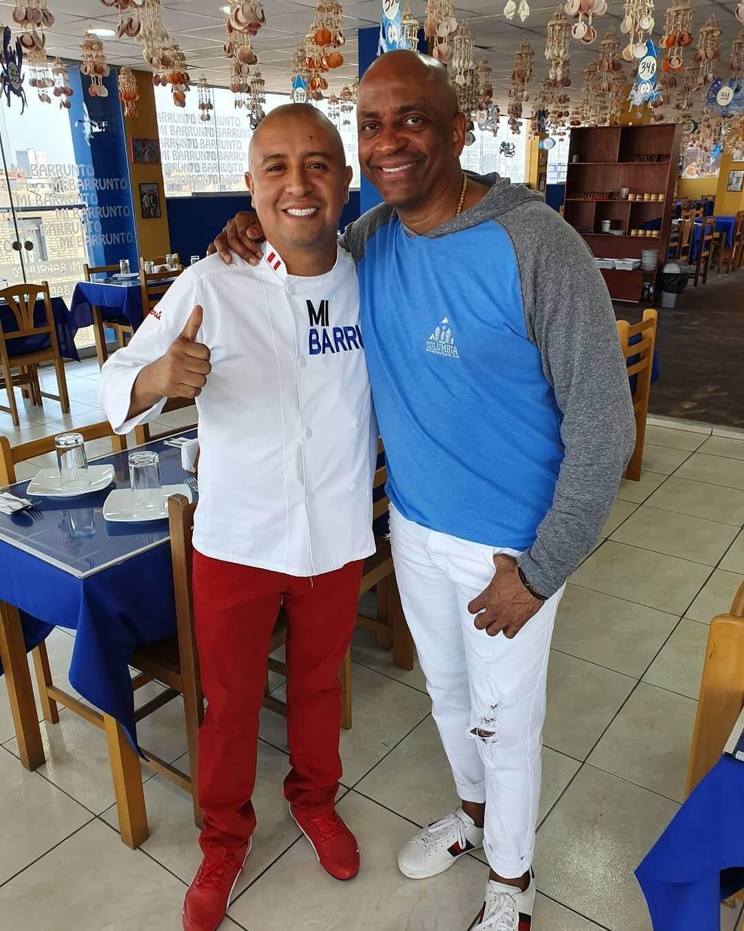 Sergio George en Mi Barrunto