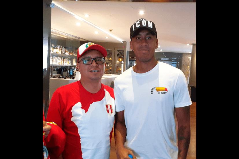 Mi barrunto con la Seleccion Peruana en Sao Paul
